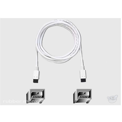 Belkin 9-pin to 9-pin (800-800) Firewire Cable 6ft