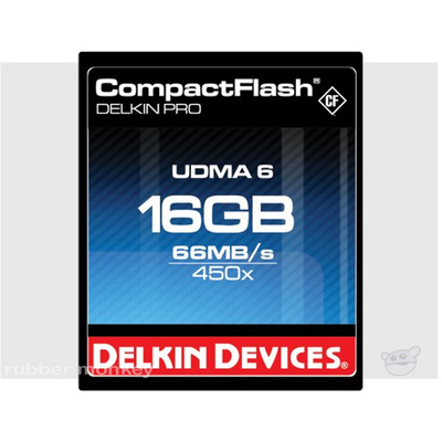 Delkin CompactFlash PRO Card 16GB