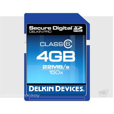 Delkin SecureDigital PRO2 Card 4GB