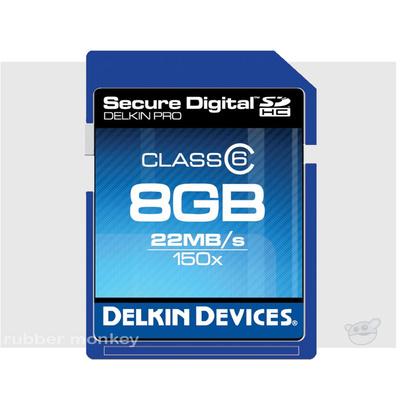 Delkin SecureDigital PRO2 Card 8GB