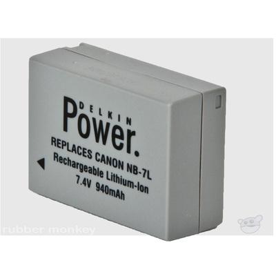 Delkin NB7L Battery