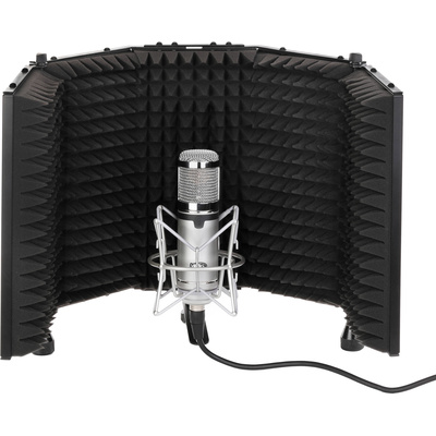 Auray Acoustic Reflection Filter Mic Stand And Headphone