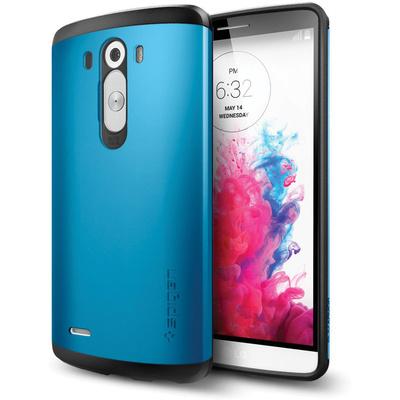 Spigen LG G3 Case Slim Armor (Electric Blue, Retail Packaging)