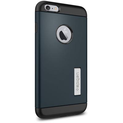 Spigen Apple iPhone 6 Plus Case Slim Armor (Metal Slate, Retail Packaging)