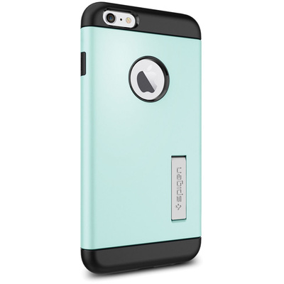 Spigen Apple iPhone 6 Plus Case Slim Armor (Mint, Retail Packaging)