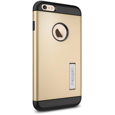 Spigen Apple iPhone 6 Plus Case Slim Armor (Champagne Gold, Retail Packaging)