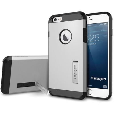 Spigen Tough Armor Case for Apple iPhone 6 Plus (Satin Silver)