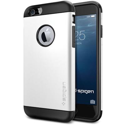 Spigen Apple iPhone 6 Case Slim Armor (Shimmery White, Retail Packaging)