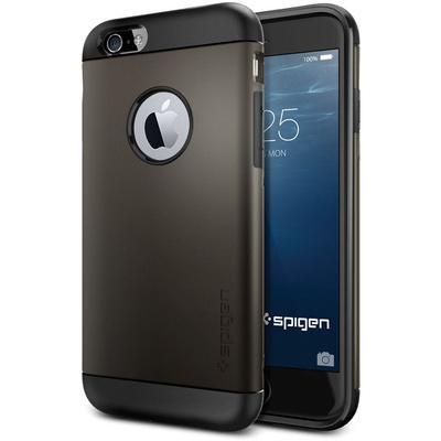 Spigen Apple iPhone 6 Case Slim Armor (Gunmetal, Retail Packaging)