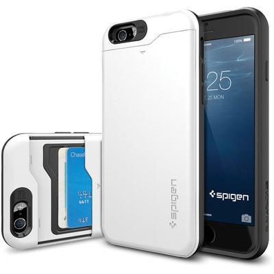 Spigen Slim Armor CS Case for Apple iPhone 6 (Shimmery White)