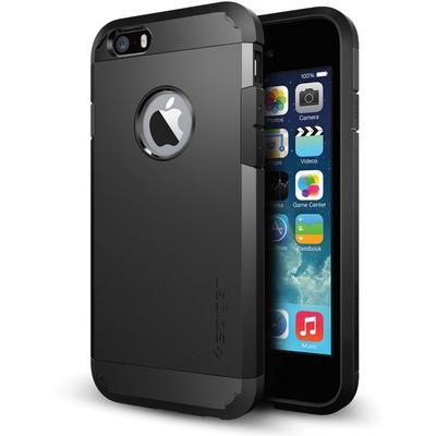 Spigen Tough Armor Case for Apple iPhone 6 (Smooth Black)