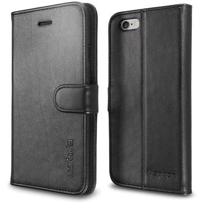 Spigen Case Wallet S for Apple iPhone 6 (Black)