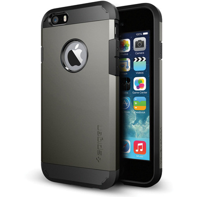 Spigen Tough Armor Case for Apple iPhone 6 (Gunmetal)