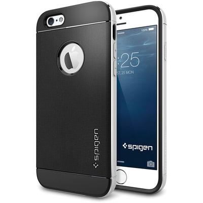 Spigen Neo Hybrid Metal Case for Apple iPhone 6 (Metal Satin Silver)