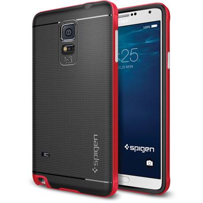 Spigen Neo Hybrid Case for Samsung Galaxy Note 4 (Electric Red)