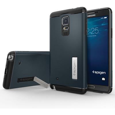 Spigen Samsung Galaxy Note 4 Case Slim Armor (Metal Slate, Retail Packaging)