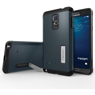 Spigen Tough Armor Case for Samsung Galaxy Note 4 (Metal Slate)