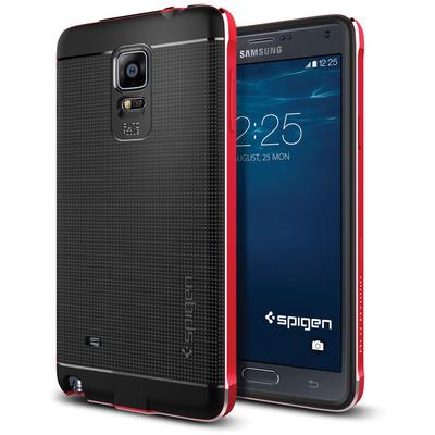 Spigen Neo Hybrid Metal Case for Samsung Galaxy Note 4 (Metal Red)