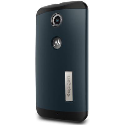 Spigen Motorola Google Nexus 6 Case Slim Armor (Metal Slate, Retail Packaging)