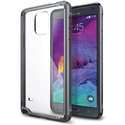 Spigen Ultra Hybrid Case for Samsung Galaxy Note 4 (Gunmetal)