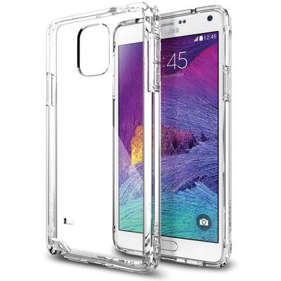 Spigen Ultra Hybrid Case for Samsung Galaxy Note 4 (Crystal Clear)