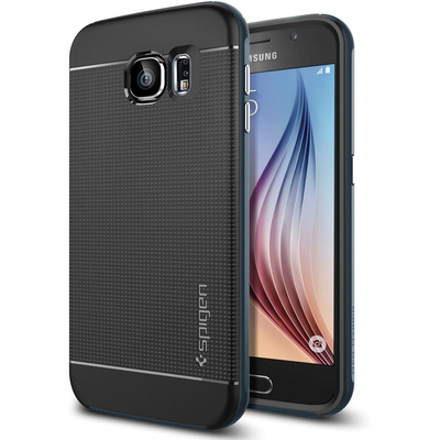 Spigen Neo Hybrid Metal Case for Samsung Galaxy S6 (Metal Slate)