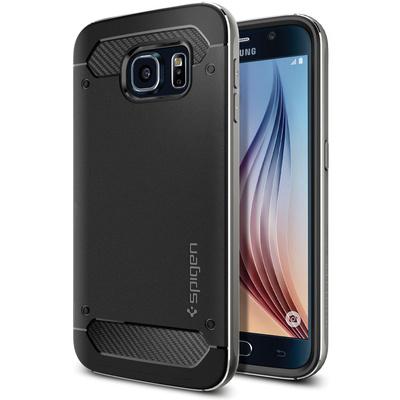 Spigen Neo Hybrid Metal Case for Samsung Galaxy S6 (Gunmetal)