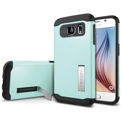 Spigen Samsung Galaxy S6 Case Slim Armor (Mint, Retail Packaging)