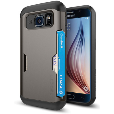 Spigen Slim Armor CS Case for Samsung Galaxy S6 (Gunmetal)
