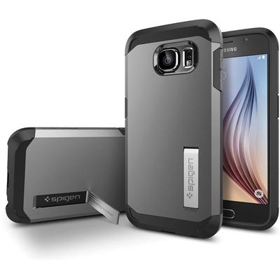 Spigen Tough Armor Case for Samsung Galaxy S6 (Gunmetal)