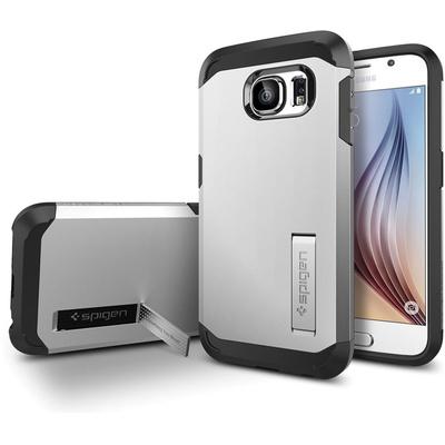 Spigen Tough Armor Case for Samsung Galaxy S6 (Satin Silver)