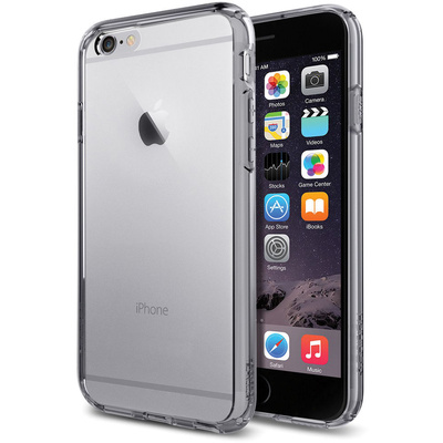Spigen Ultra Hybrid Case for Apple iPhone 6 (Smoke Black)