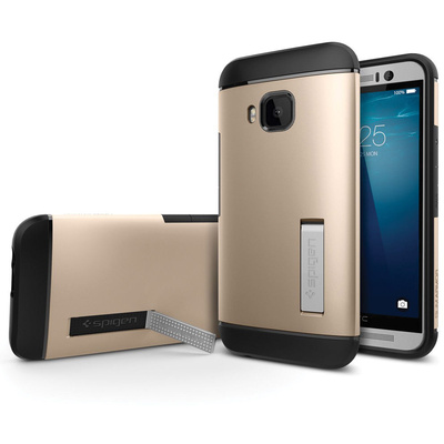 Spigen HTC One M9 Case Slim Armor (Champagne Gold, Bulk Packaging)