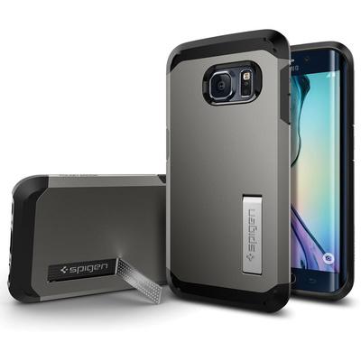 Spigen Tough Armor Case for Samsung Galaxy S6 Edge (Gunmetal)