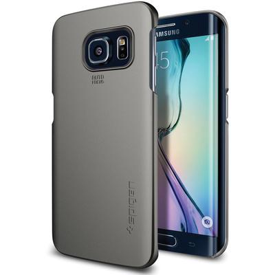 Spigen Thin Fit Case for Samsung Galaxy S6 Edge (Gunmetal)