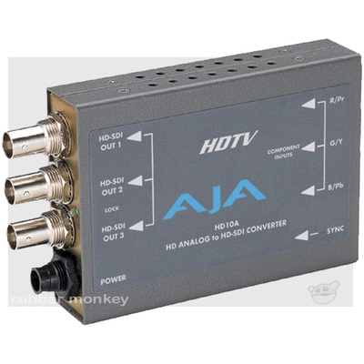 AJA HD10A 12V Analog to Serial Digital Converter