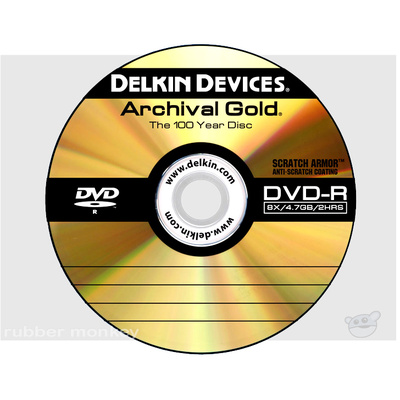 Delkin Archival Gold DVD-R Spindle (100)