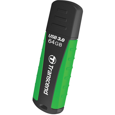 Transcend 64GB JetFlash 810 USB 3.0 Flash Drive (Green/Black)