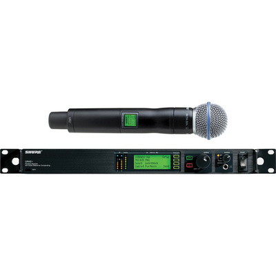 Shure UHF-R Single-Channel UHF Handheld Wireless Kit (L3: 638 - 698 MHz) Beta 58A