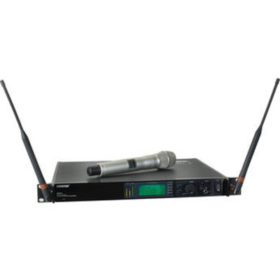 Shure UHF-R Single-Channel UHF Handheld Wireless Kit (H4: 518 - 578 MHz) (KSM9 Champagne)