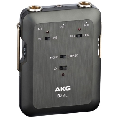 AKG B23L Phantom Power Supply & Mini Recording Mixer
