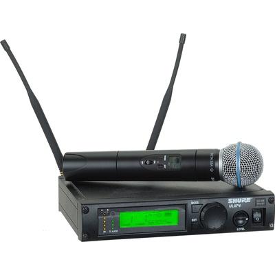 Shure ULX Professional Series - Wireless Handheld Microphone System (J1: 554 - 590 MHz) Beta 58