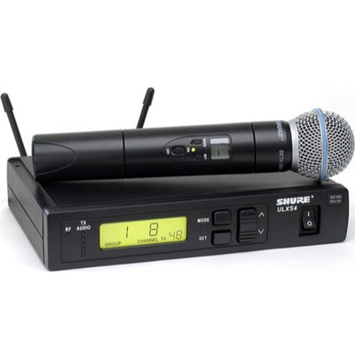 Shure ULX Professional Series - Wireless Handheld Microphone System (M1: 662 - 698 MHz) Beta 58
