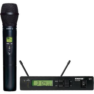 Shure ULX Single-Channel UHF Wireless Handheld Kit (J1: 554 - 590 MHz) SM87A
