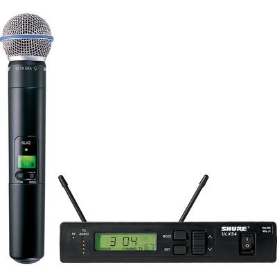 Shure ULX Standard Series - Dual Wireless Handheld Microphone System (M1: 662 - 698 MHz) Beta 58