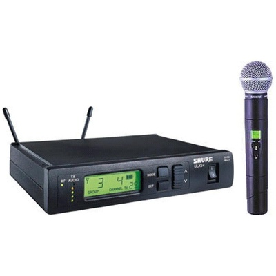 Shure ULX Standard Series - Wireless Handheld Microphone System (J1: 554 - 590 MHz) SM58