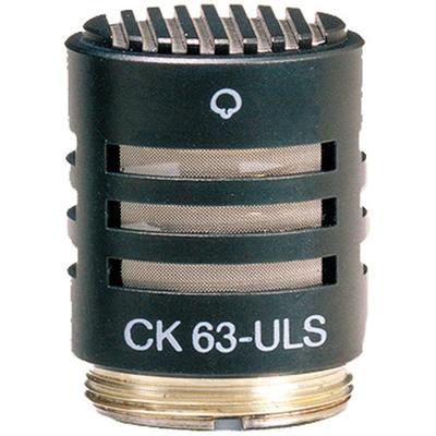AKG CK63-ULS - Hyper-Cardioid Condenser Microphone Capsule