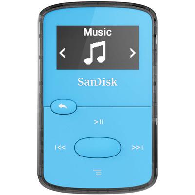 SanDisk 8GB Clip Jam MP3 Player (Blue)