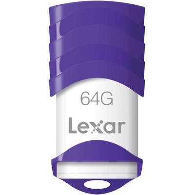 Lexar 64GB JumpDrive V30 USB 2.0 Flash Drive (Purple)