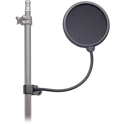 K&M 23956B - PopKiller Pop Filter and Gooseneck Combo